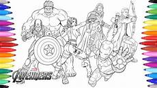 the avengers coloring pages coloring painting avengers