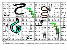 division ladder worksheets 6260 snakes ladders 2 in one multiplication division teaching resources