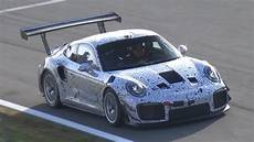 porsche 991 gt2 rs modified porsche 991 gt2 rs mule testing 2019