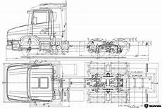 scania t series blueprint free blueprint for 3d