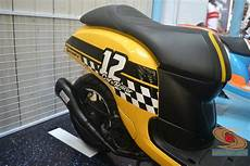 Scoopy 2017 Modif by Honda Scoopy 12 Inch Modif Caferacer Tahun 2017 17