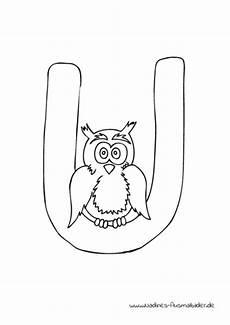 Ausmalbilder Buchstaben U Auf Die Pl 228 Tze Vorschule 1 Kinderleicht Lernen