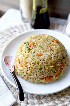 fried rice yakimeshi pickled plum food and drinks