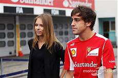 Fernando Alonso Scuderia With His New