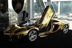 solid gold lamborghini model 7 5 million autofluence