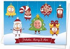 gestaltung weihnachtskarten mit fotos geschenkideen