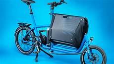 Lastenrad Als E Bike Muli Cycles E Muli Gro 223 Es Locker