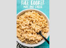 creamy rice cooker macaroni and cheese_image