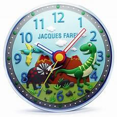 jacques farel kinder wanduhr in 3d optik dinosaurier