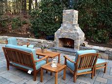 outdoor fireplace kit contractor series for easy installation