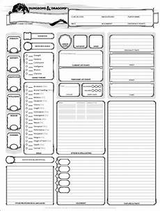 dungeons and dragons character sheet 5th ed get it here wizards of the coast in 2019 dnd