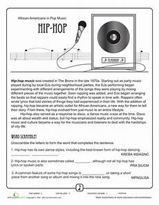 history of hip hop music hip hop pinterest music worksheets music education and music