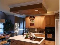 Ceiling Over Kitchen Island   Traditional   Kitchen