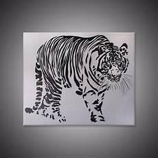20 Gambar Lukisan Harimau 3d Rudi Gambar
