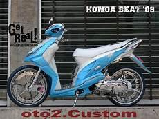 Modif Skotlet Honda Beat by Koleksi Modifikasi Motor Beat Dengan Skotlet Terbaru