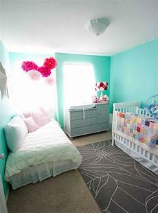 Teal Gray And White Bedroom Ideas by Day Bed Crib Grey Teal White And Pink Shared Bedroom