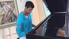 Instagram Nowak - djokovic shows his piano skills on instagram as