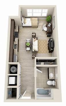 Studio Apartment Floor floor plans studio small living spaces