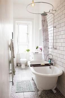 clawfoot tub bathroom ideas 13 small bathrooms with big impact the honeycomb home