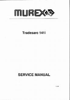 murex tradesmig 135 165 165gl 235 245 285 service manual download schematics eeprom repair