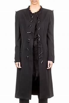 yohji yamamoto damen mantel lang schwarz luxuryloft