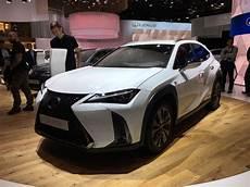 Lexus Ux Voici Les Prix En Direct Du Mondial De