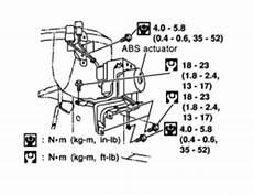 repair anti lock braking 2006 nissan maxima electronic toll collection repair guides anti lock brake system control module and actuator autozone com