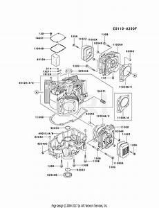 Kawasaki Fh680v As07 4 Stroke Engine Fh680v Parts Diagram