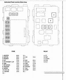 2004 toyota matrix fuse box diagram starter relay and fuse where is the starter relay and fuse