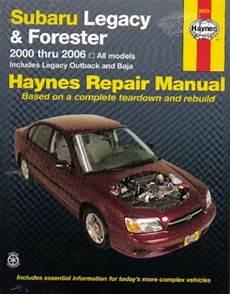 automotive repair manual 2006 subaru forester transmission control haynes subaru legacy 2000 2009 forester 2000 2008 car repair manual