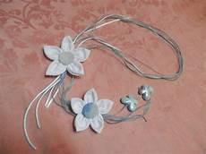collane con fiori di stoffa bimbacrea collana con fiori di stoffa e farfalle