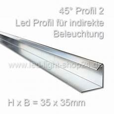 led profil 45 grad35x35mm lichtlenkung f 252 r indirekte