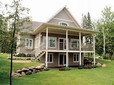 house plans with a walkout basement bungalow walkout basement house plans at front 9889
