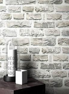 stein tapete wohnzimmer newroom vliestapete steintapete grau steintapete
