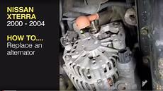 Replace The Alternator On A Nissan Xterra 00 04