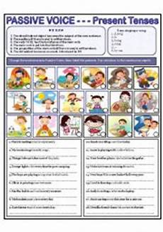 english teaching worksheets passive voice in present simple