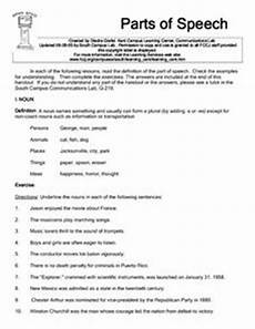 worksheets speech 19060 parts of speech worksheet for 6th 8th grade lesson planet