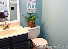 budget bathroom makeover mom 4 real