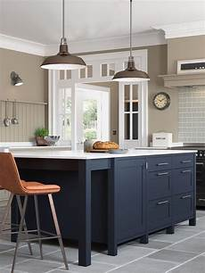 stylish freestanding kitchen islands carts in 2020 hardwick free standing island in oxford blue in 2020