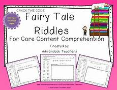 tale riddles worksheet 15039 the code riddles about tales and other stories tpt