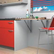 table cuisine escamotable ou rabattable support de table rabattable charge 100 kg accessoires de