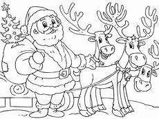 get this santa coloring page free printable 16479
