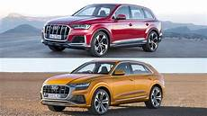 when will the 2020 audi q7 be available 2020 audi q7 vs audi q8