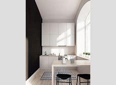 Making of Kitchen in Zurich :: SketchUp 3D Rendering