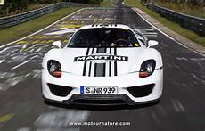 Porsche Vendra L Hybride La Plus Rapide Du Monde