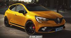 new renault clio rs will pretty much look like this