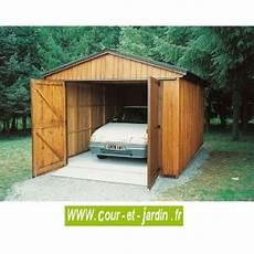 garage de jardin pas cher garage bois 12m 178 abri garage voiture en kit pas cher