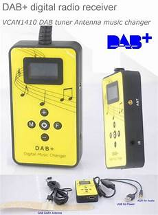 digital radio receiver test dab digital radio receiver dab plus tuner antenna usb