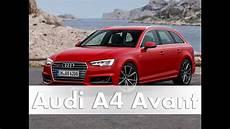 Audi A4 Avant Modell 2016 B9 Test Fahrbericht Auto