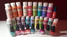 polished by audison walmart haul la colors acrylic paint